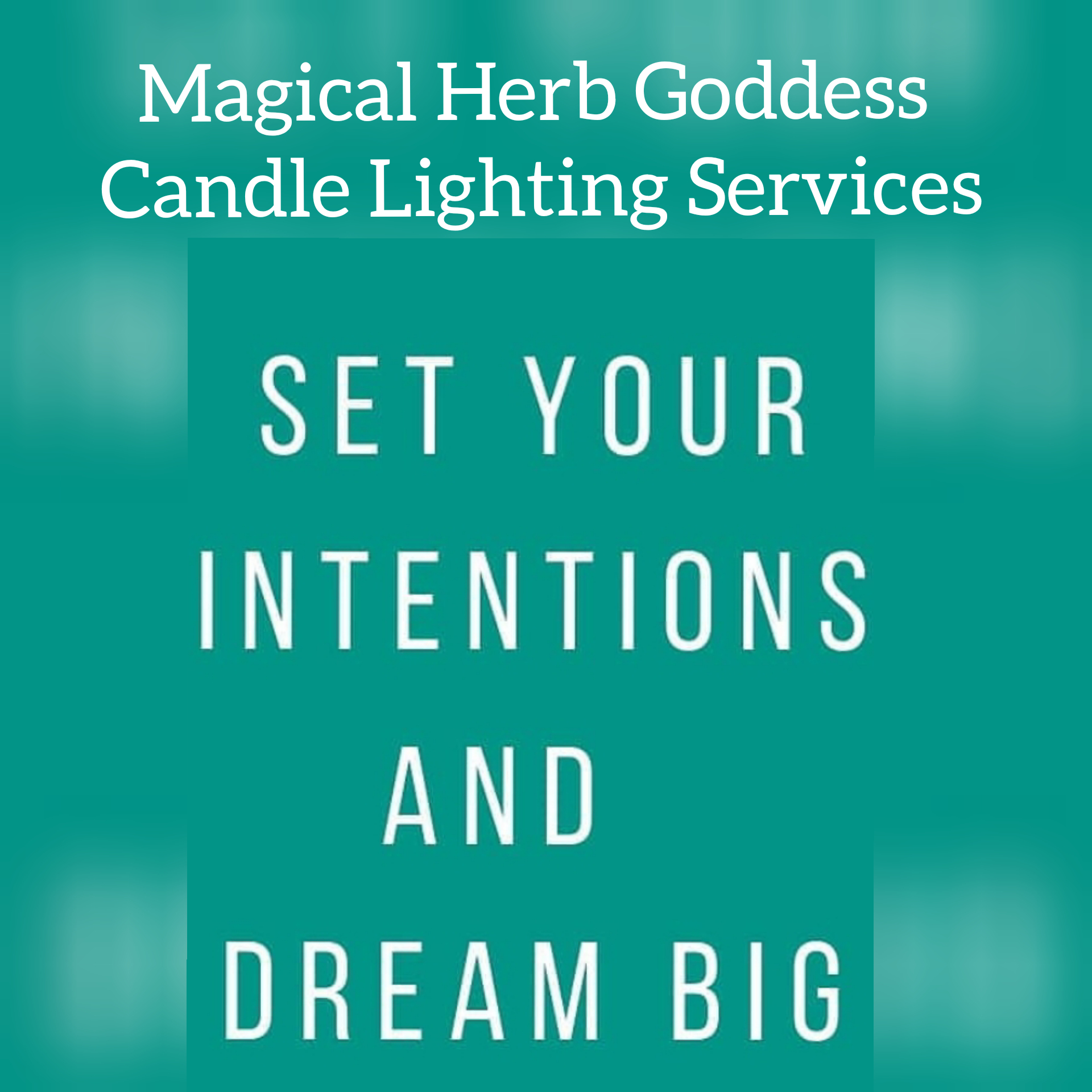 The Magical Herb Goddess - CANDLE MAGIC SERVICES